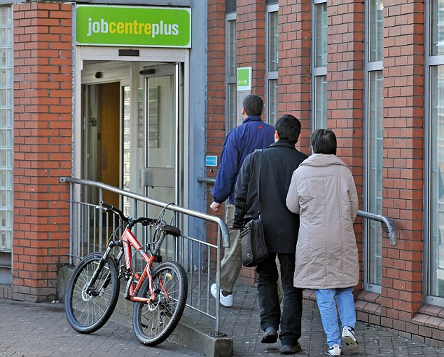 Unhappy: Mrs Rasbridge said her firm had stopped using the JobCentre to find staff after their ¿nightmare¿ experience. This is a file picture of a job centre
