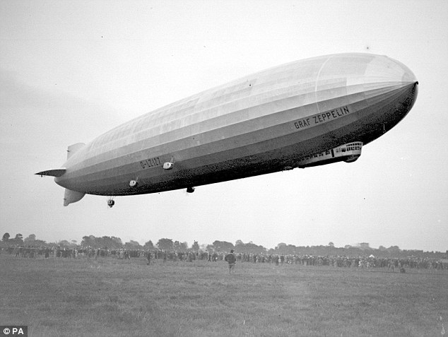 Fear the wurst: Germans were banned from eating sausages during World War I because the Central Powers needed cows to help them produce Zeppelins to launch raids on Britain