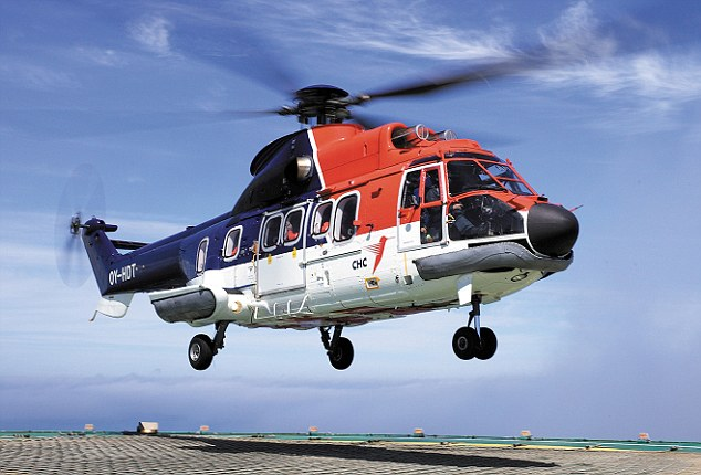 The crash came just a fortnight after global company CHC re-introduced the controversial Super Puma model to its stable a year after the helicopter type was grounded due to two unexplained ditchings last year