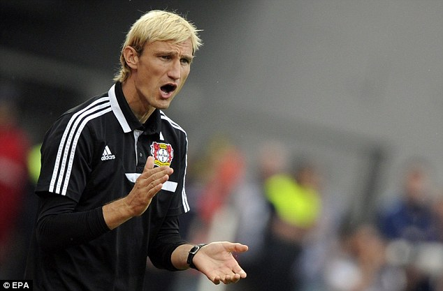 Perfect start: Bayer Leverkusen's head coach Sami Hyypia is working wonders from the touchline