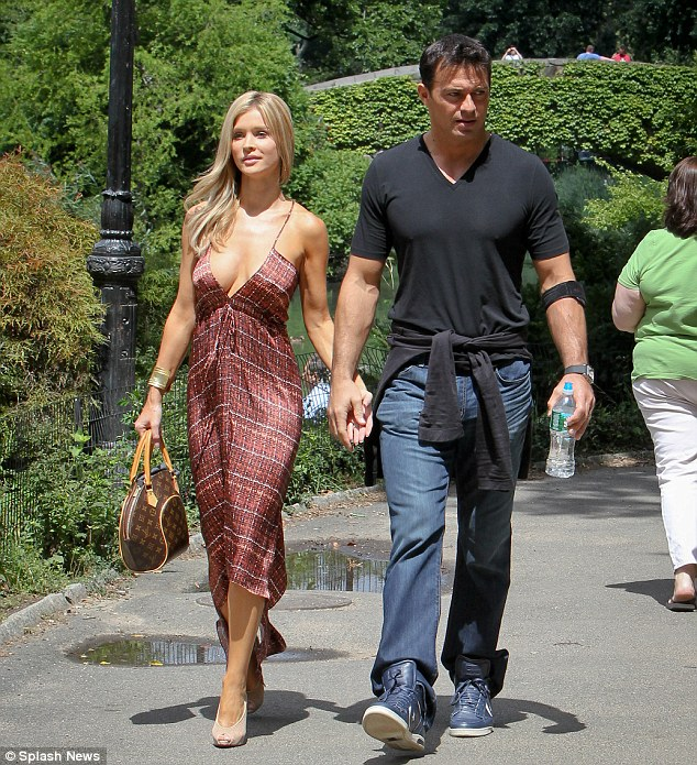 Newly-wedded bliss! Joanna and Romain Zago made their six-year romance official, tying the knot in June