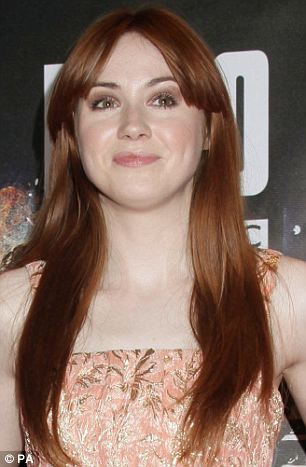 Former Dr Who assistant Karen Gillan: Redheads still face prejudice despite prominence of stars with red hair and numbers of women who dye their hair red