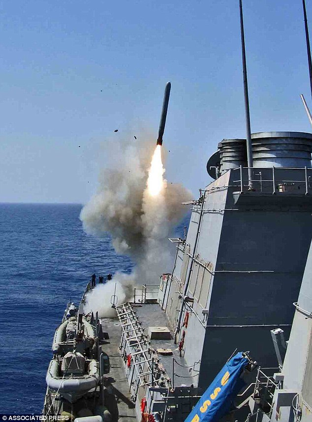 Four battleships have been moved to within striking range of Syria as President Obama weighs his options following a reported use of chemical weapons against citizens on Wednesday