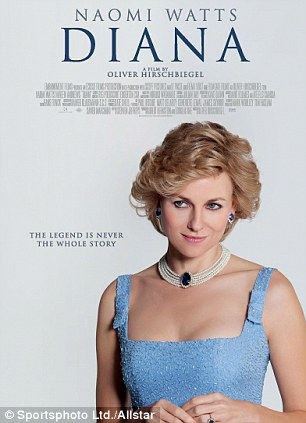 A poster for 'Diana' which opens on September 20