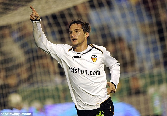 Loan deal: Southampton are looking at a season-long deal for tiny Valencia winger Pablo Piatti