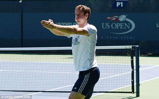 The man to beat: Murray will be supremely confident he can win major No 3