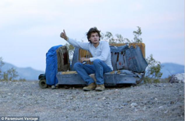 Copycat? The film, which stars Emile Hirsh, chars the experiences of a college graduate seeking adventure and a simpler life. He travels across the U.S. with few provisions and without contacting his family