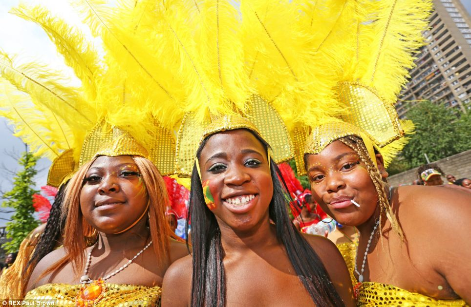 Golden girls: From the very young tot he young at heart, the colourful carnival has something to offer everyone
