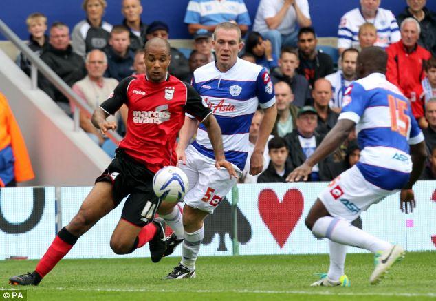 Dunne chases down Ipswich's David McGoldrick