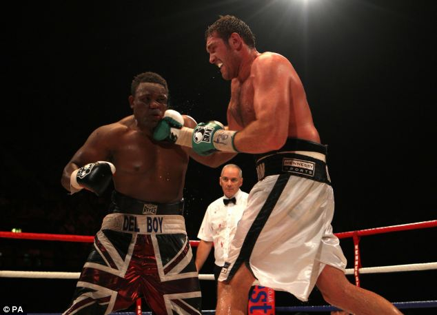 Best of British: Fury defeated Chisora by a unanimous points decision
