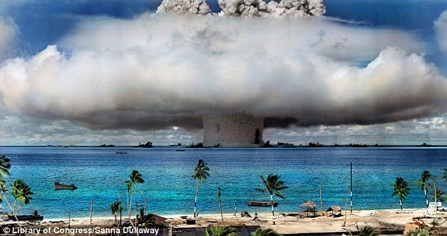 Impact: Adding color to the Operation Crossroads Baker nuclear test in 1946 brings an added vibrancy