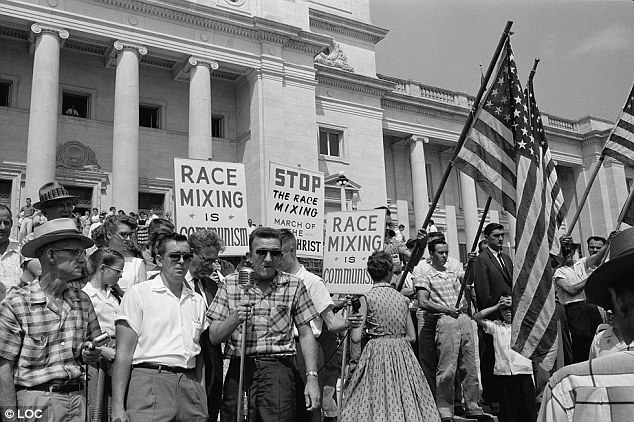 Racist protest