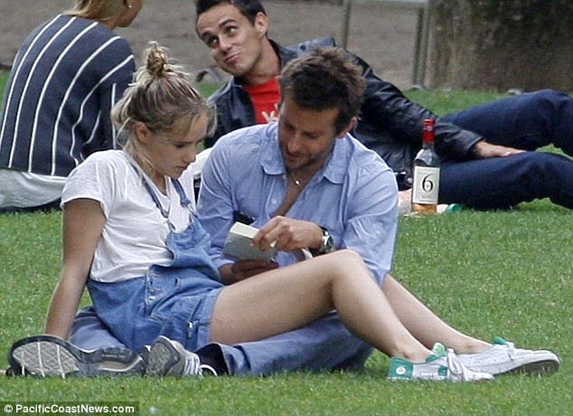 Reading: It looked at one point like Bradley was reading to Suki