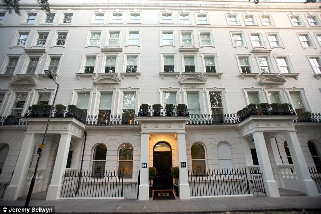 New lease of life: The hotel was bought for £33million in March by developer British Land, which plans to convert it into luxurious flats - leaving the contents of 40 bedrooms and 20 suites to be disposed of