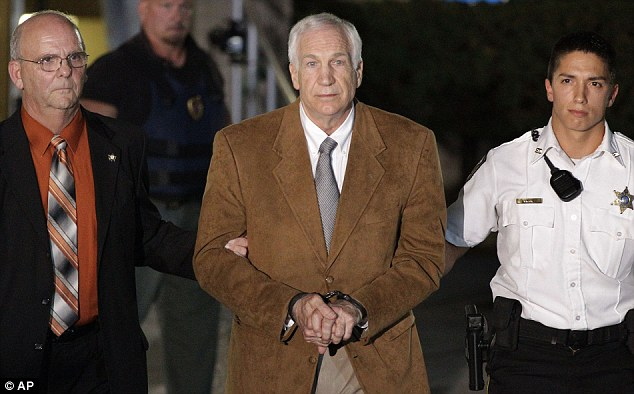 Victims who had not come forward with their allegations during Sandusky's trial in June 2012 were granted settlements with by the Pennsylvania university yesterday