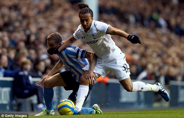 Off: Spurs left-back Benoit Assou-Ekotto could be used for  a loan swith with Roma's Federico Balzaretti.