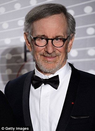 Runner up: Director Steven Spielberg, who had a big hit last year with 'Lincoln,' was a distant second with earnings of £64million
