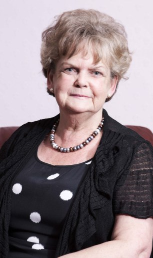 Electric results: Patsy Collis has been cured from her incontinence thanks to a pioneering procedure