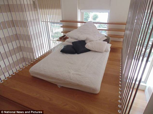 This is where the magic happened: This bed, slept in by the Beckhams, is just one of the lots up for sale as the entire contents of the Hempel Hotel in Bayswater, London, goes up for auction next month