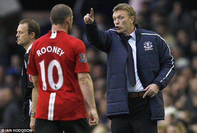 Moyes tells Rooney to go away