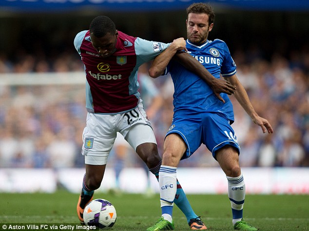 On the fringes: Juan Mata (right), Fernando Torres (below left) and Demba Ba (bottom right) all seem to have been frozen out by Mourinho