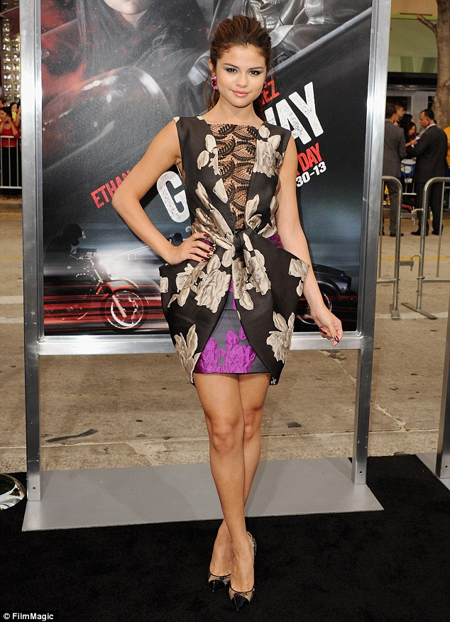 Her lips are sealed: Selena Gomez responded with a firm, 'Don't try that with me,' when she was asked about the incident at the Los Angeles premiere of her new movie, Getaway, on Monday