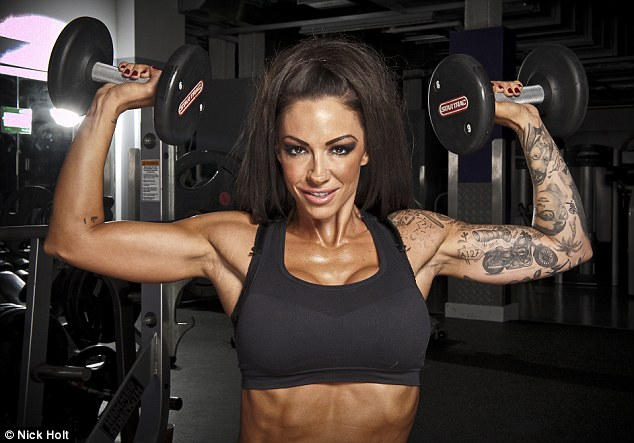 Bodybuilder: Georgina follows in the footsteps of model-turned-athlete Jodie Marsh, who also competes