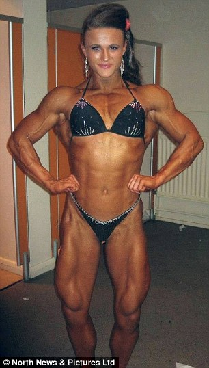 """Tough: Georgina weighs 10st 3lbs and is 5ft 7"""""""