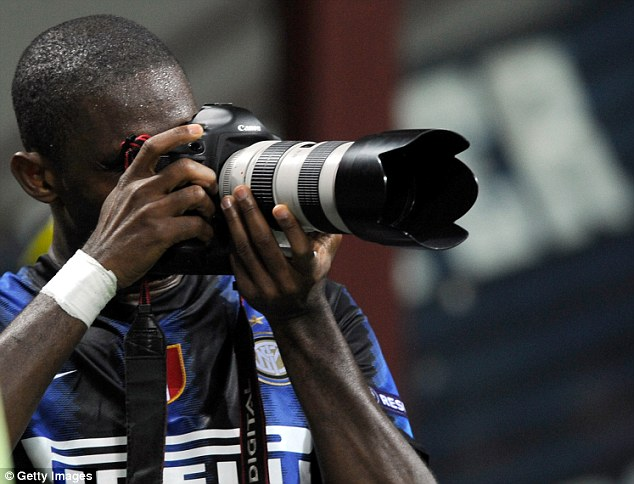 Sharp shooter: Eto'o was part of Mourinho's successful Inter Milan side