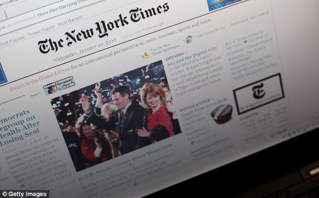The New York Times' website was inaccessible Tuesday afternoon with the 'Syrian Electronic Army' claiming responsibility