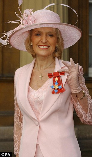 Rosemary Conley with her CBE, in 2004. In 2006 her fitness empire was estimated to be worth £13¿million