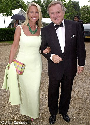 Plan: JCB diggers tycoon Sir Anthony Bamford's wife Carole Bamford is about to open a restaurant near their Gloucestershire home