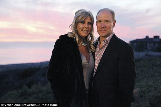 It's over: Brooks Ayers officially split with Vicki Gunvalson on Real Housewives of Orange County reunion on Monday evening