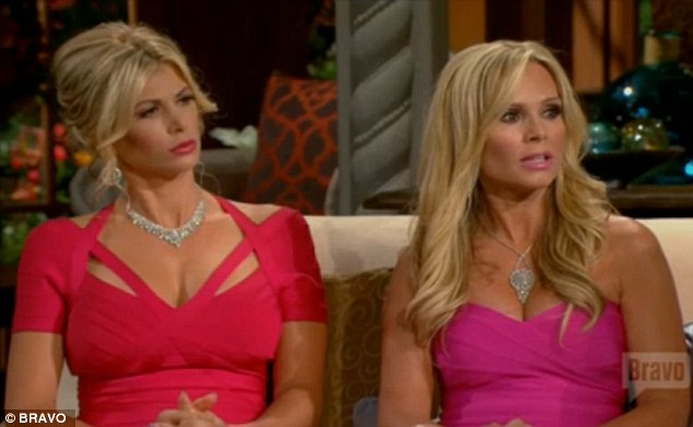 Really? Cast-mates Alexis Bellino and Tamra Barney could not believe their ears
