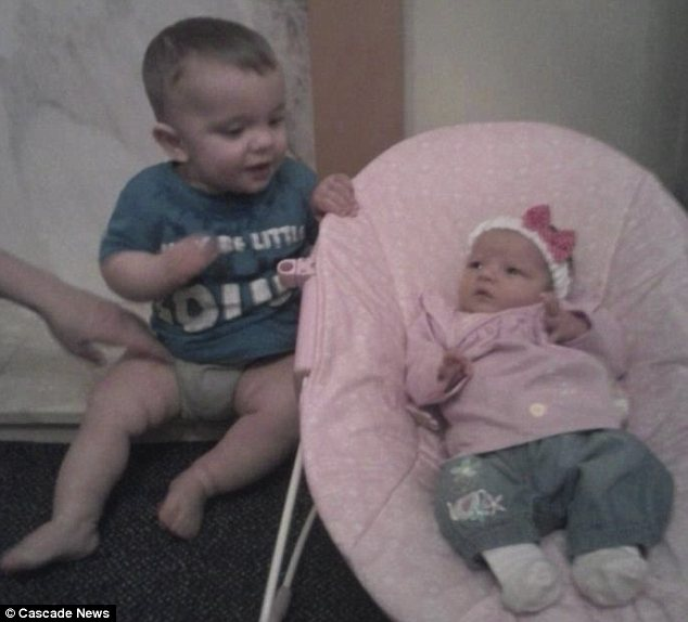 Heartbreak: Siblings Logan and Ruby Monaghan both died within just eight months of each other