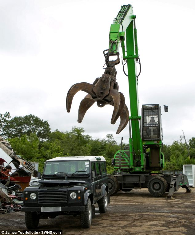 Doomed: The Land Rover Defender, which can go for upwards of $100,000, is about to be rendered worthless