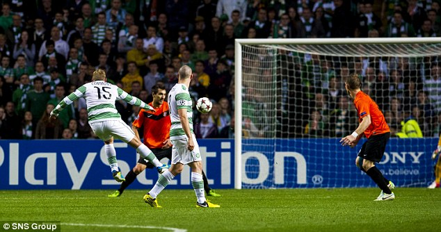 Strike: Commons shoots from 25 yards