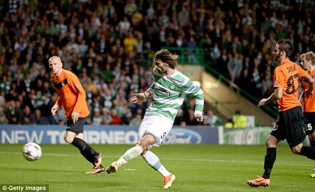 Sidefoot: Giorgos Samaras scores to level the tie
