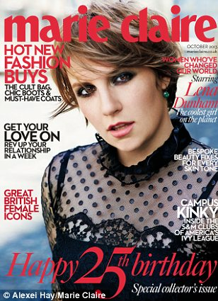 Exclusive: The interview appears in the October edition of Marie Claire