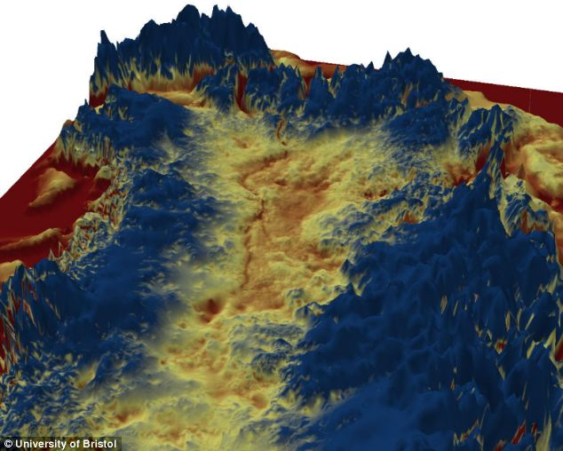 In August, a 466 mile-long (750 km) chasm on the same scale as parts of the Grand Canyon was discovered beneath the Greenland ice sheet. The canyon, which is as deep as 2,620ft (800m) in places, is thought to predate the ice sheet, which has itself been around for millions of years