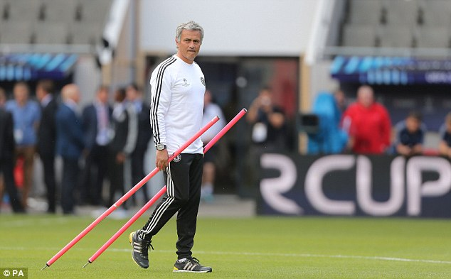 Pole to pole: Mourinho has much to ponder ahead of the clash with Guardiola's side