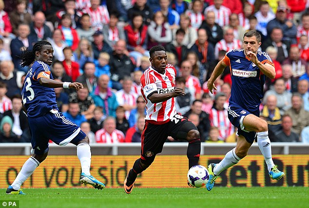 Talented: But Stephane Sessegnon's Sunderland days are numbered