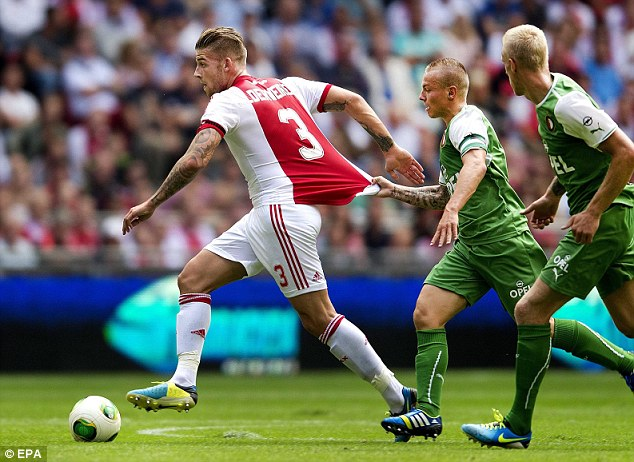 Case for the defence: Alderweireld has attracted the interest of several Premier League clubs