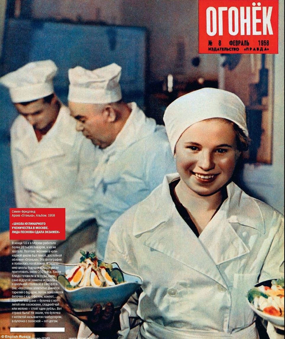 Soviet salad: With elements such as oversized pages and multi-page fold-outs, each issue exists as an elaborate artistic creation