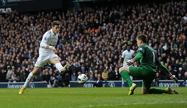 The start of a new era? Gareth Bale scored as Spurs won the most recent north London derby