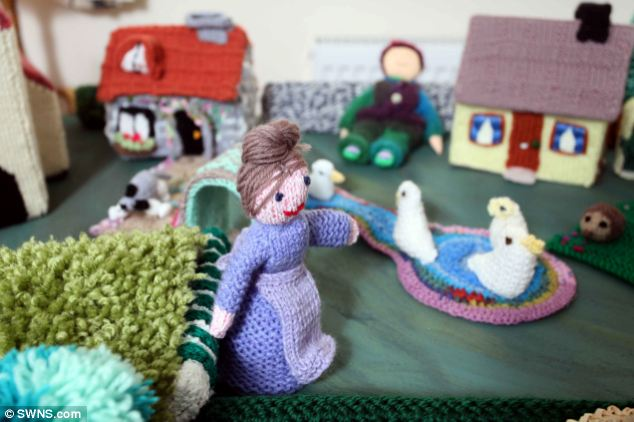It hadn't occurred to them that hospitals or hospices may turn them away because the wool hadn't been sterilised
