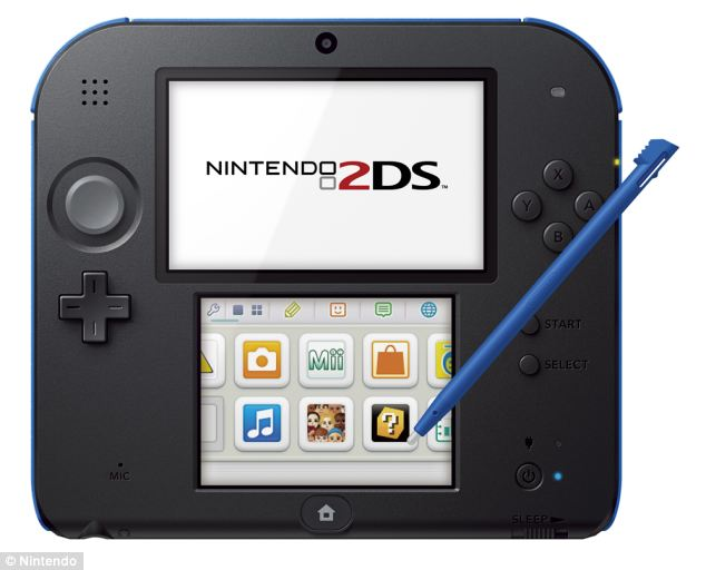 Nintendo has unveiled a new low cost handheld games console aimed at taking on the threat from mobile phone games