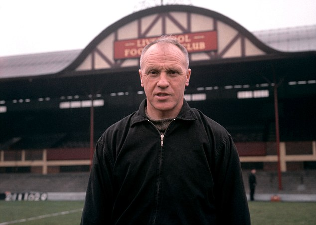 Tough task: Shankly arrived at Liverpool in 1959 to a club that had been in the old Second Division for five years
