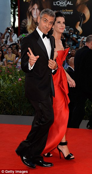 Red carpet ready: The good friends certainly make for a good looking couple as they take to the red carpet
