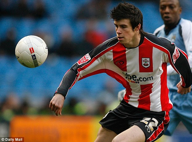 Gareth Bale in action for Southampton